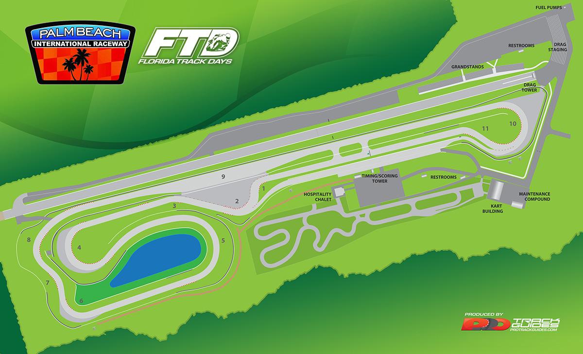 Palm Beach International Raceway Road Course